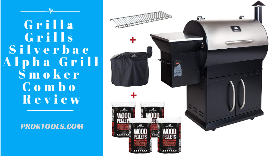Grilla Grills Silverbac Alpha Grill Smoker Combo Review